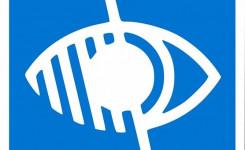 Logo voor slechtzienden