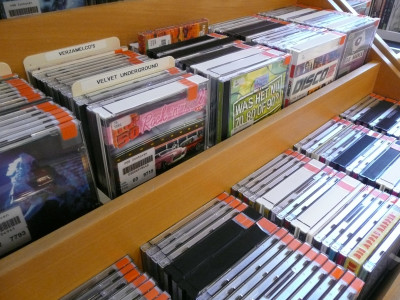 Grote uitverkoop cd-collectie Bib