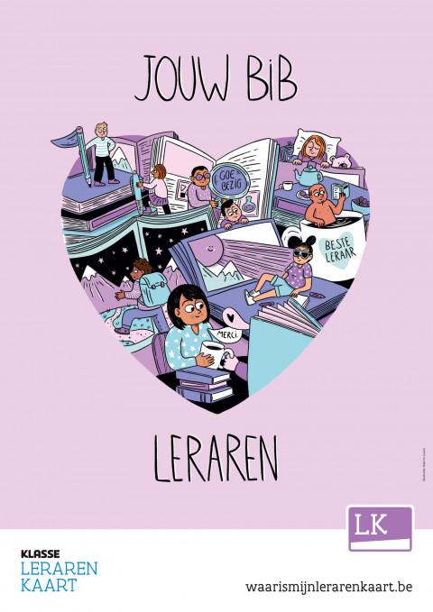 campagneposter leerkrachtenkaart 2021